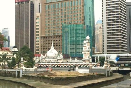 """The """"muddy confluence"""" which gave Kuala Lumpur its name"""