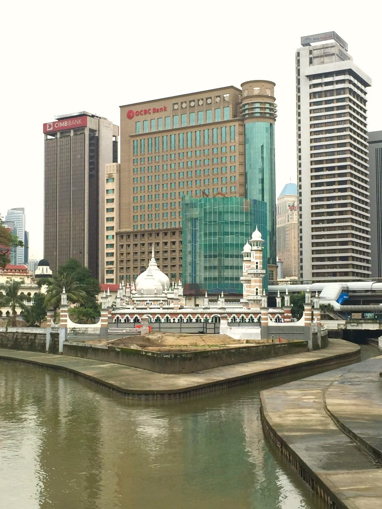 "The ""muddy confluence"" which gave Kuala Lumpur its name"