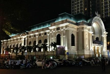 Municipal Theatre in Ho-Chi-Minh-City