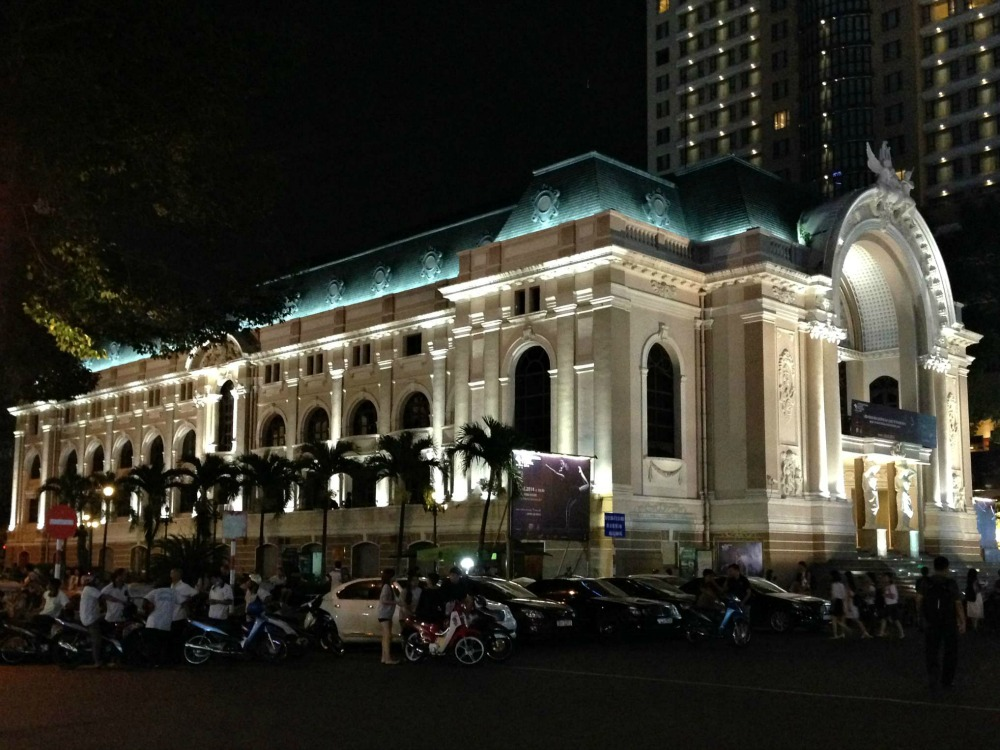 Municipal Theatre in Ho-Chi-Minh-City