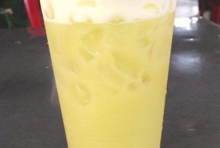 Yummy! Sugar cane juice!