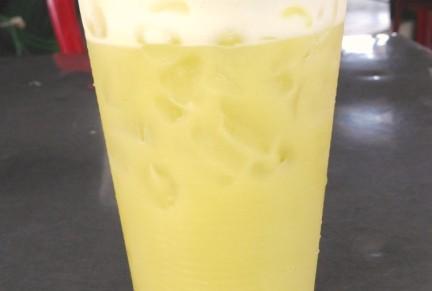 Yummy! Sugar cane juice!