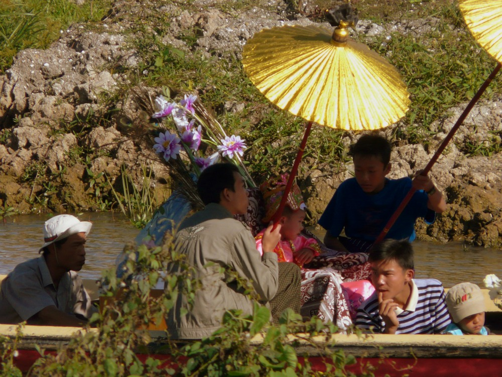 Festivities at Inle Lake