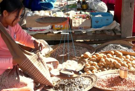 Inle Lake - Lokal Market