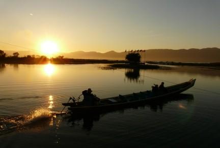 Inle Lake - Sunset
