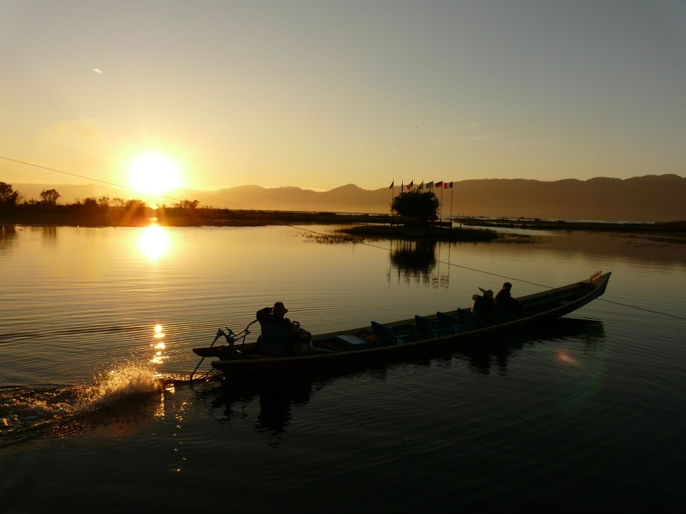 Inle Lake - Sunset