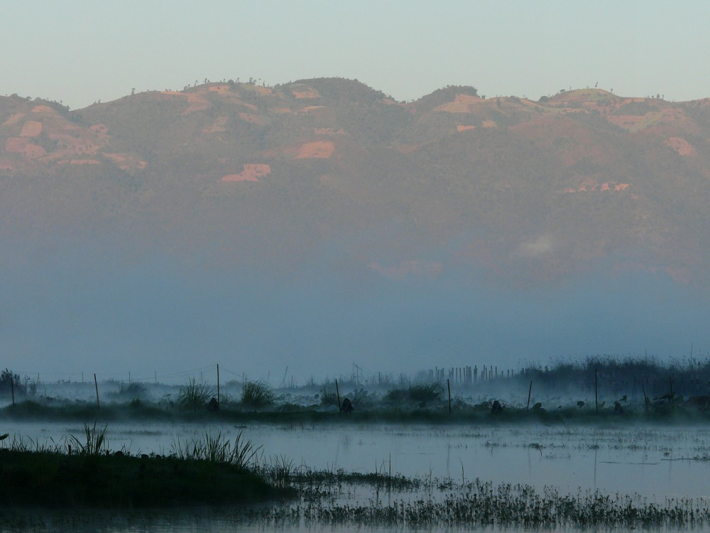 Inle Lake in the Morning