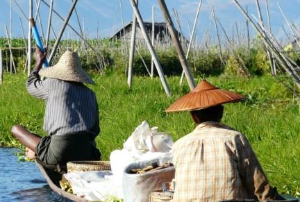 Inle Lake - Lokal People
