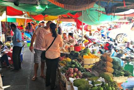 Fruit Market Phnom Penh