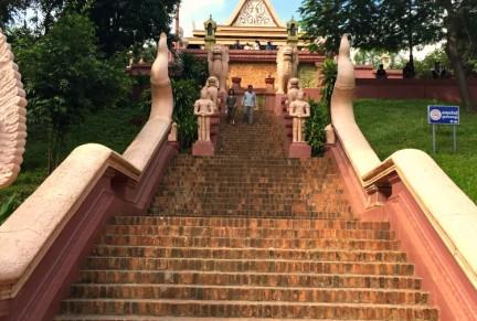Entrance Temple Pnohm Penh