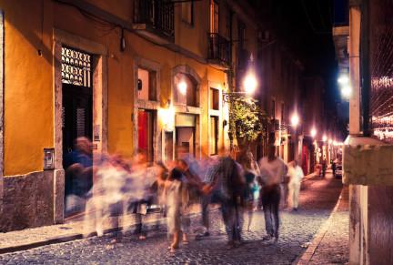 Lisbon at night - OFFFSTOCK/Shutterstock