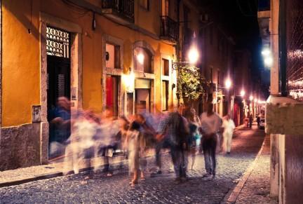 Lisbon at night - OFFFSTOCK /Shutterstock