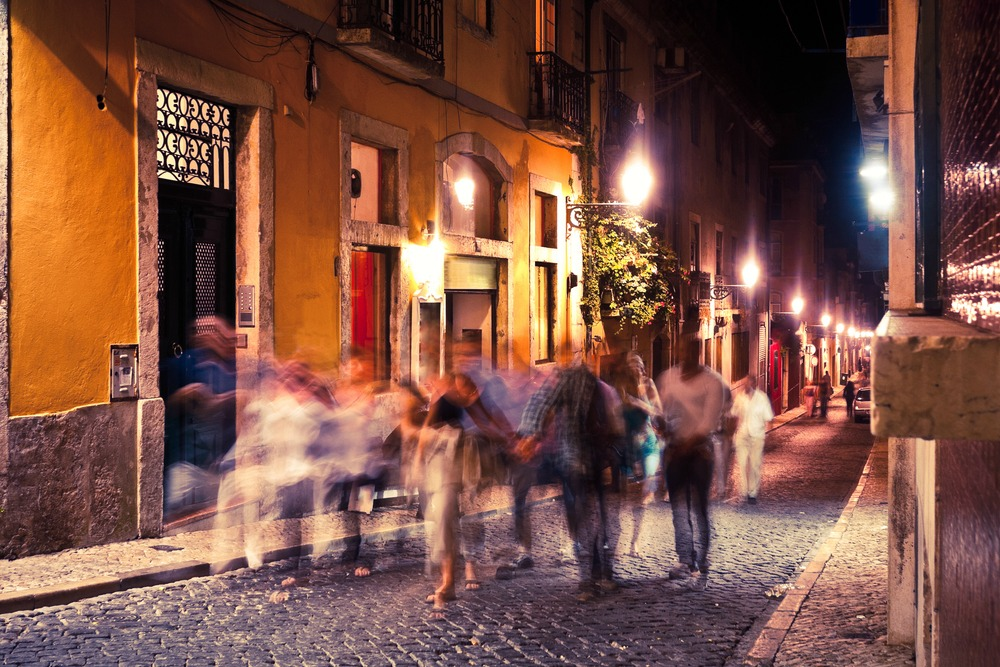 Night life in Lisbon - OFFFSTOCK /Shutterstock