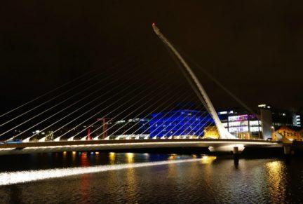 Dublin Docklands, Samuel Beckett Bridge