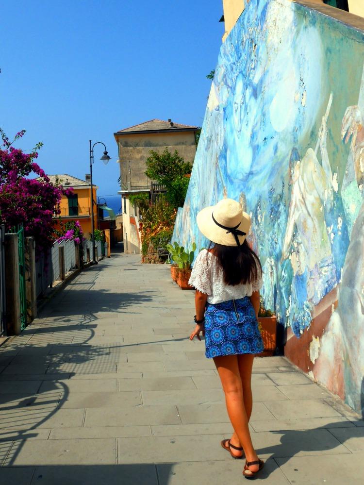 shot by my sister at Riomaggiore, Cinque Terre