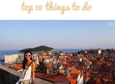Croatia - top 10 things to do
