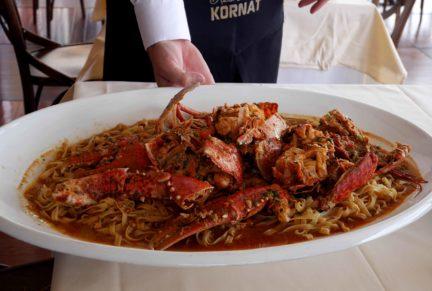 Lobster pasta at Croatia | Croatia - 10 things to do