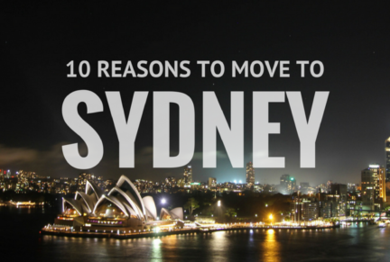 10 Reasons To Move To Sydney